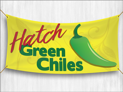 (Pre-Designed) Hatch Green Chilies Banner